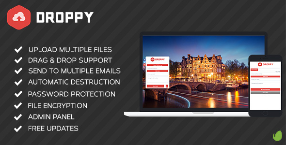 Droppy - Online file sharing