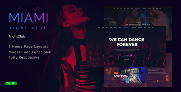 Disco Templates from ThemeForest