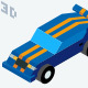 3d Isometric Vehicles Illustrations - GraphicRiver Item for Sale
