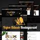 Vojon Bilash Restaurant Template - ThemeForest Item for Sale