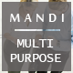 Mandi – Onepage and Multipage Responsive Creative , Corporate, Business & Portfolio Template - ThemeForest Item for Sale