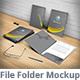 Presentation Folder Mockup - GraphicRiver Item for Sale