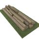 old logs - 3DOcean Item for Sale