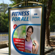 Fitness Program Poster Template 45 - GraphicRiver Item for Sale