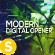 Modern Digital Opener - Slideshow - VideoHive Item for Sale