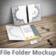 Document Folder Mockup - File Folder - GraphicRiver Item for Sale