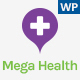 MegaHealth - Medical WordPress Theme For Health Care Center - ThemeForest Item for Sale