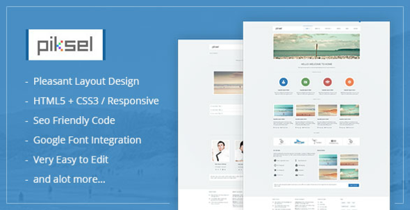 Piksel -  Creative and Portfolio WordPress Theme