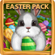 Set with Rabbit and Easter Eggs - GraphicRiver Item for Sale