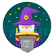 Illustration of a Magic Wizard - GraphicRiver Item for Sale