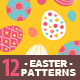 12 Easter Seamless Patterns - GraphicRiver Item for Sale