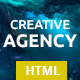 Creative Agency - One Page HTML Template - ThemeForest Item for Sale