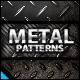 Metal Background Patterns - GraphicRiver Item for Sale