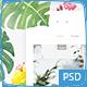 Verge Watercolor Shop Blog Photoshop - ThemeForest Item for Sale