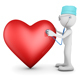 Doctor and Red Heart - GraphicRiver Item for Sale