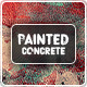 Painted Concrete Backgrounds - GraphicRiver Item for Sale