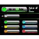 high-tech light button - GraphicRiver Item for Sale