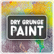 Dry Grunge Paint Backgrounds - GraphicRiver Item for Sale