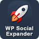 WP Social Expander - CodeCanyon Item for Sale