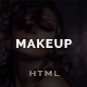 Makeup | Barbershop HTML Template - ThemeForest Item for Sale