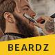Beardz: Barbershop, Barbers & Hair Salon Interactive Template - ThemeForest Item for Sale