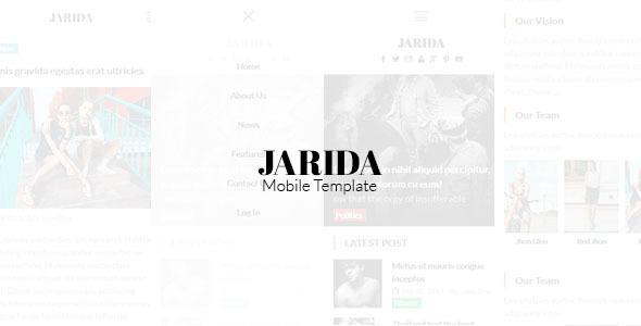Jarida - Magazin Mobile Template