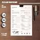 Minimal Resume/CV-V20 - GraphicRiver Item for Sale