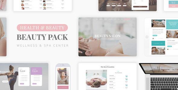 Wellness Beauty - Wellness Center PSD Template