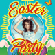 Happy Easter Party Flyer Template 154 - GraphicRiver Item for Sale