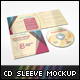 4 Panel CD Sleeve Mockup - GraphicRiver Item for Sale