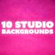 Studio Photo Backdrops - GraphicRiver Item for Sale