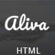 Aliva - Multipurpose Bootstrap Template - ThemeForest Item for Sale