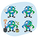 Set Characters Earth Part 3 - GraphicRiver Item for Sale
