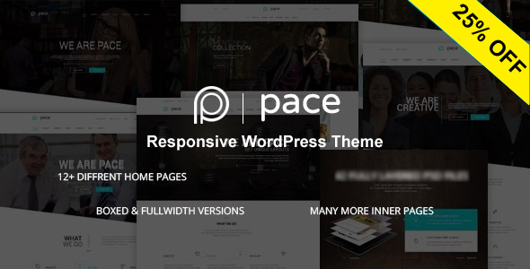 Pace - Responsive MultiPurpose Theme