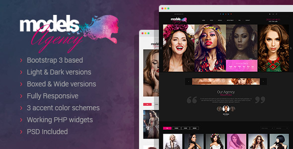 Models Agency - Portfolio HTML Template