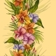 Vintage Floral Tropical Seamless Pattern - GraphicRiver Item for Sale