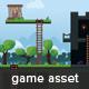 Warrior Platformer Game Tileset and Assets - GraphicRiver Item for Sale