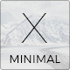Minimal X Keynote Template - GraphicRiver Item for Sale
