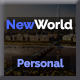 NewWorld - Responsive Personal Portfolio Template - ThemeForest Item for Sale