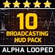 Broadcasting HUD Pack - VideoHive Item for Sale