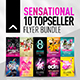 10 Topseller Flyer Bundle - GraphicRiver Item for Sale
