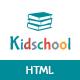 Kidschool - Education HTML Template - ThemeForest Item for Sale
