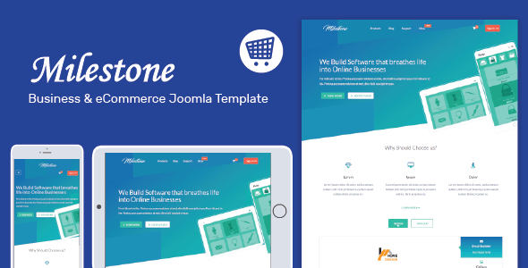 Milestone - Responsive Multi-purpose Joomla Template