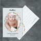 Baby Announcement Postcard - GraphicRiver Item for Sale