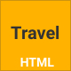 Tour & Travel HTML Template - ThemeForest Item for Sale