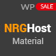 Material Web Hosting WordPress Theme + WHMCS - ThemeForest Item for Sale