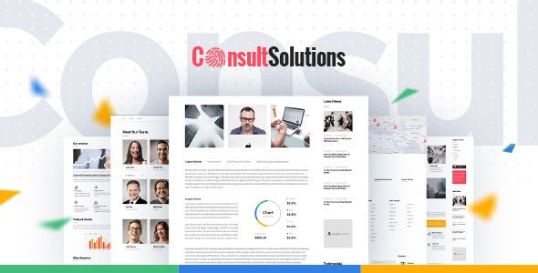Consult Solution - Business & Finance WordPress Theme