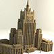Russian MFA building - 3DOcean Item for Sale