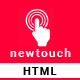 Newtouch Responsive App Template - ThemeForest Item for Sale
