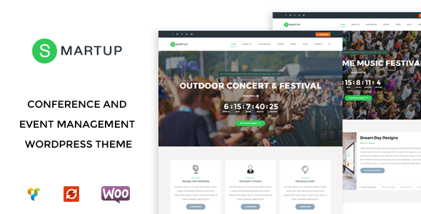 Smart Up - Conference & Event Management WordPress Theme